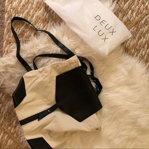 Deux Lux Canvas Backpack